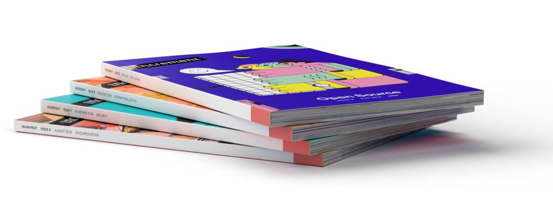 Increment magazine stack