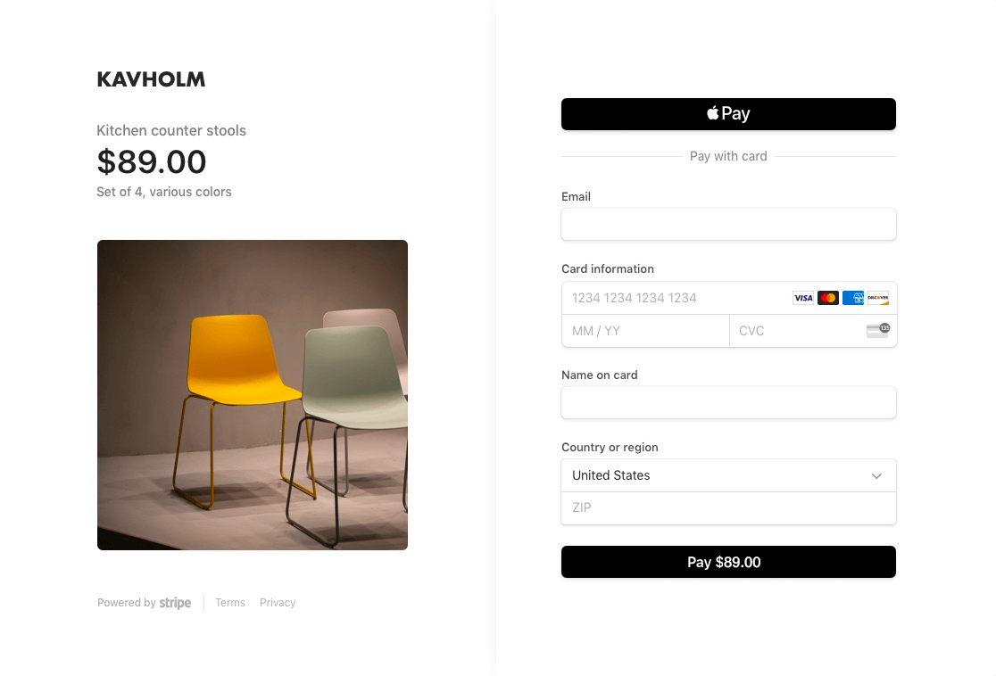 La nouvelle version de Stripe Checkout